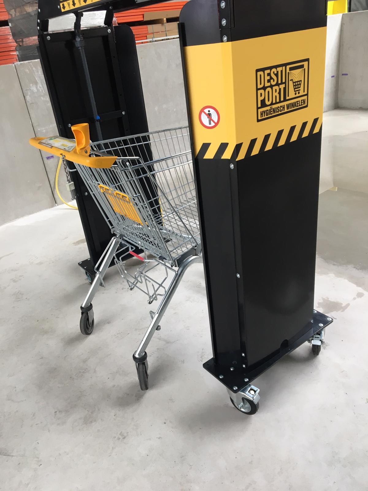 Destiport Cart Desinfektion