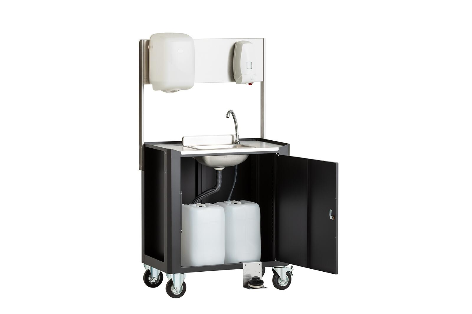 Mobile washing unit foto 2